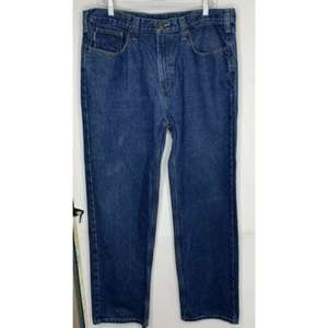 Carhartt Mens Relaxed Fit Jeans Size 38X32 Denim
